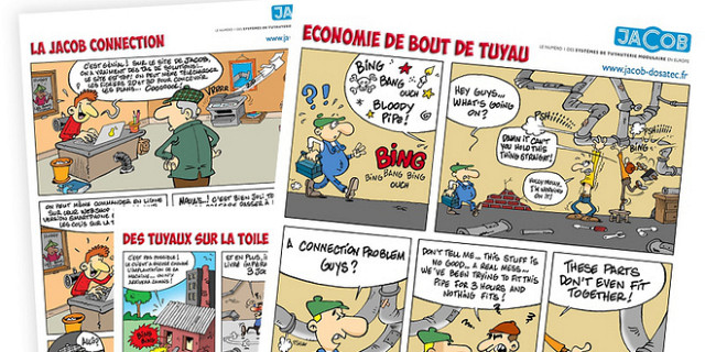 Communication Par La Bande Dessine BD