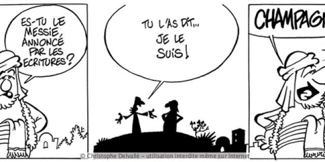 Communication BD - Album : Jésus chez les Parisiens 63854