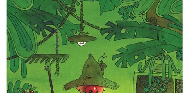 Communication BD - Le jardinier : carte postale 63884