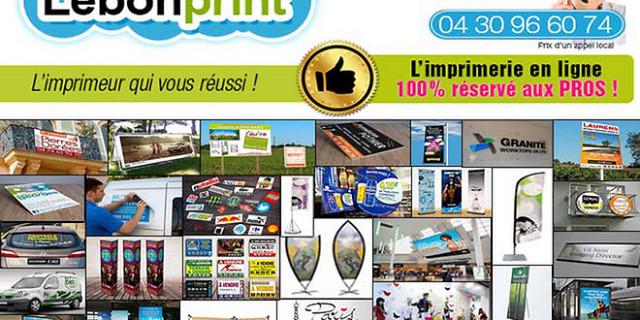 Edil : Lebonprint - Imprimerie grand format Lebonprint 62777