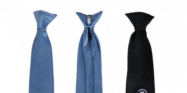 LEVET COMMUNICATION - Cravates de securité à clip, personnalisées 42066