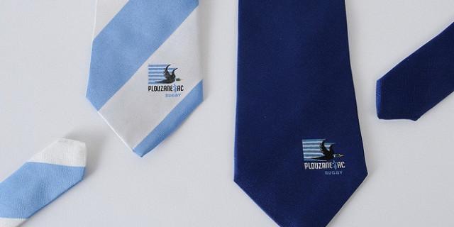LEVET COMMUNICATION - cravates jacquard  (brodées) 42256