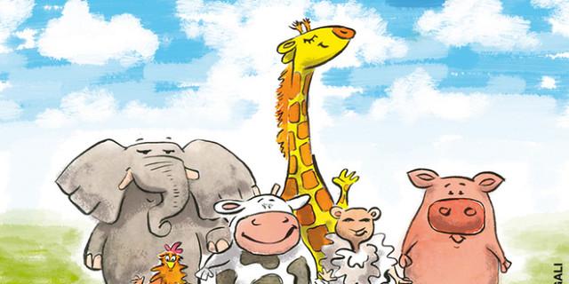 Magali AC illustration - Animaux éditions jeunesse illustrateur Angers humour couleur 48937
