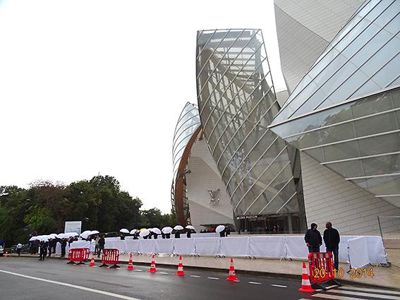 Totale Régie - Régie extérieure à la Fondation Louis Vuitton-Inauguation officielle 58854