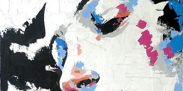 Vincent Dubos - peinture portrait trichromie 60903