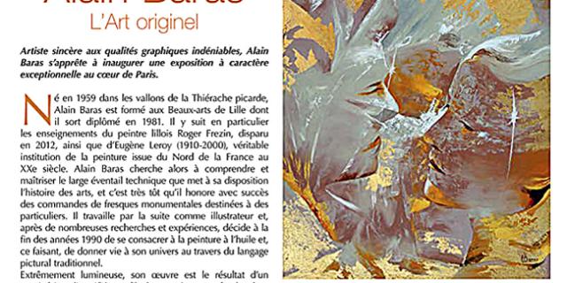 Alain Baras - page Univers des Arts n° 177 71782