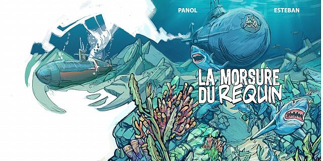 Amaury Esteban - La Morsure du Requin - Couverture 82691