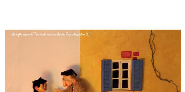 Aurélie Froger - De Nouveau Dans le Ciel, illustration livre jeunesse 80978