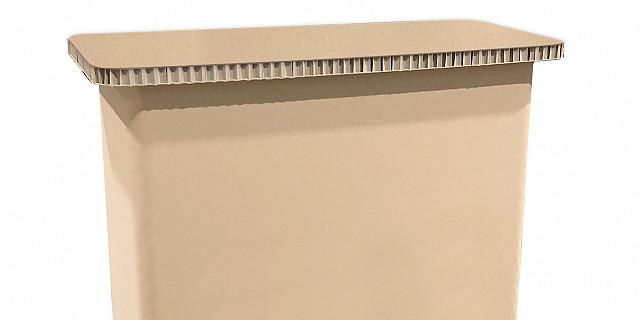 Bikom  - Comptoir en carton recyclé personnalisable 84240