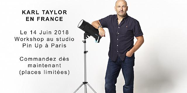 Broncolor - Formation de la lumière du photographe Karl TAYLOR en France 74816