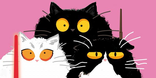 Camille Ruzé - Fluffy Cats 81657