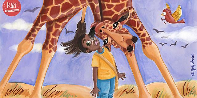 Christelle Histe - Paki sous la girafe 79841