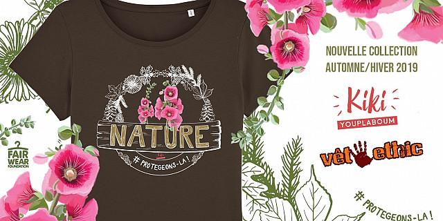 Christelle Histe - T-shirt ''Nature, protégeons-là !'' 82152