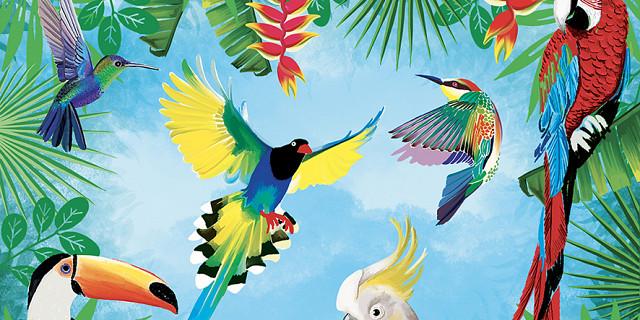 Christelle Histe - Oiseaux tropicaux 82439