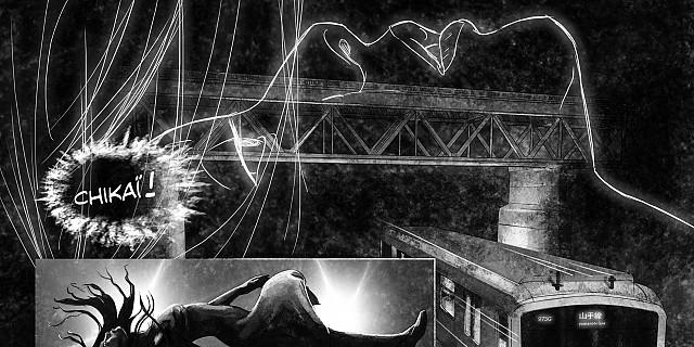 Christophe Esquerré - Planche n°1 - bande dessinée- Toulouse 84629