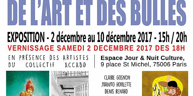 Claire Gosnon - VERNISSAGE EXPOSITION DE L'ART ET DES BULLES 72629