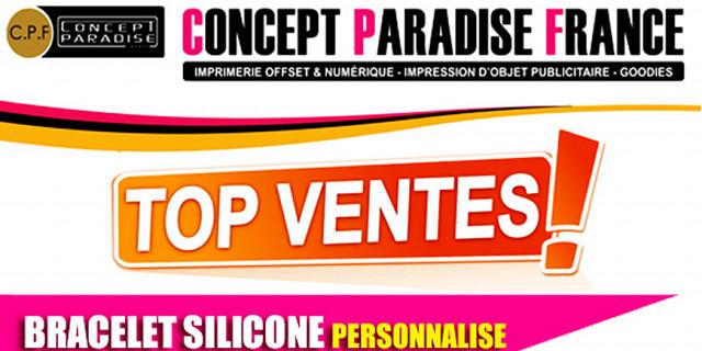 Concept Paradise France - Nos bracelets en silicone 73536
