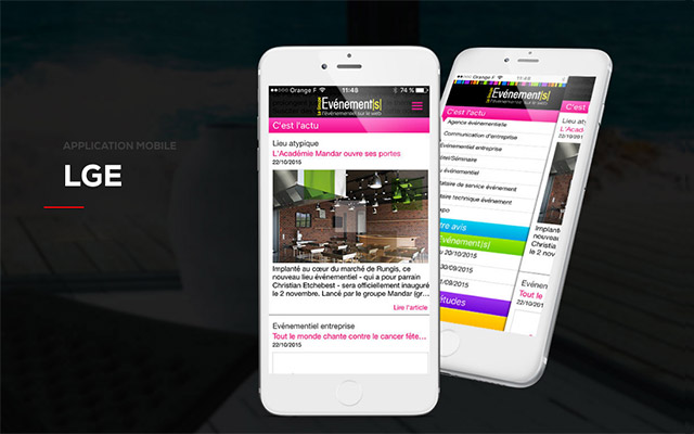 Digital Therapy - Realisation de l'application mobile pour LGE 81387