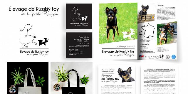 Du Coté de chez Swann - Identité visuelle élevage chiens 82206