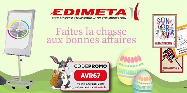Edimeta - EDIMETA propose sa grande chasse aux bonnes affaires 79150