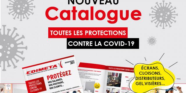 Edimeta - NOUVEAU CATALOGUE : TOUTES LES PROTECTIONS CONTRE LA COVID-19 86103