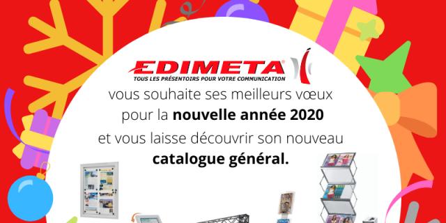 Edimeta - Edimeta vous souhaite ses meilleurs voeux 2020 ! 82622