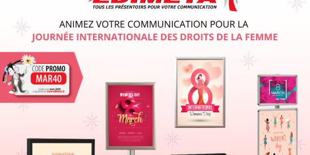 Edimeta - Journée des Droits de la Femme  avec Edimeta ! 83048