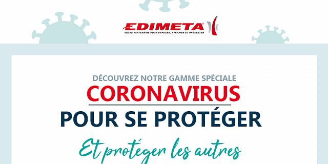 Edimeta - Ensemble, faisons barrière au Coronavirus ! 83676