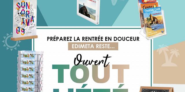 Edimeta - Distributeurs de supports de communication Paris 84441