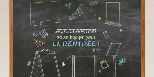 Edimeta - Fabricant et distributeur de PLV et signalétique Paris 84722