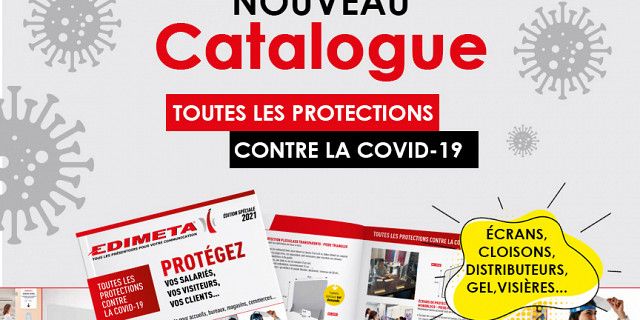 Edimeta - NOUVEAU CATALOGUE : TOUTES LES PROTECTIONS CONTRE LA COVID-1 86102