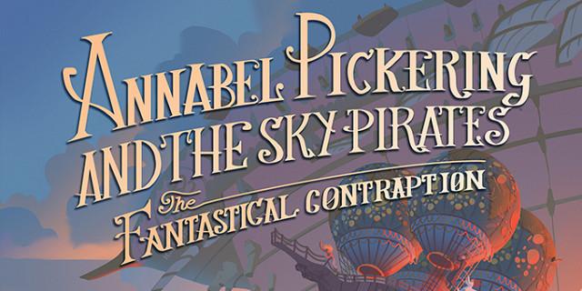 Florian Garbay - illustration couverture de roman jeunesse steampunk - Annabel Pickering 83707