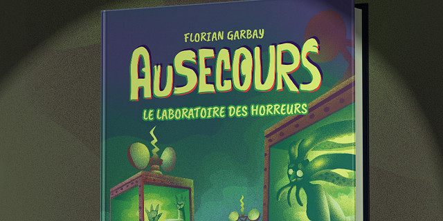 Florian Garbay - Illustration de couverture jeunesse horreur : le laboratoire 85466