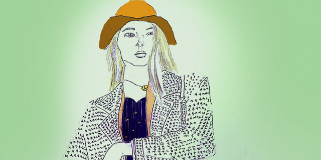 Hassiba Kessaci - Mannequin magasin multimarques projet illustration 79543