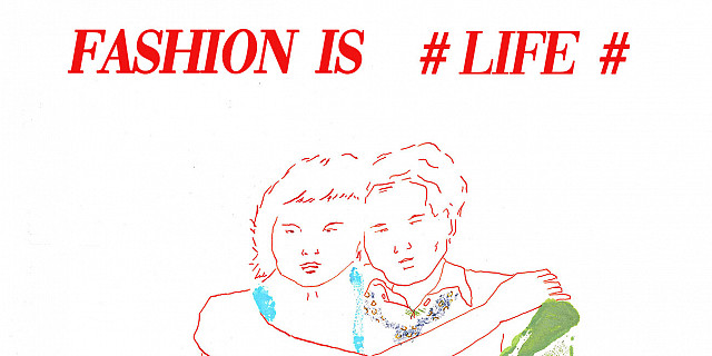 Hassiba Kessaci - marque-page illustration de mode modèles mixte 83737
