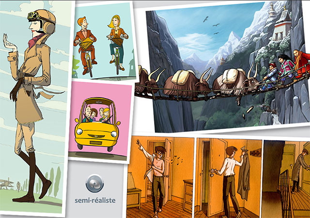 Icomène - Illustration semi-réaliste 68293