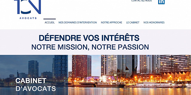 IN'UP MARKET & COM' - Site Web pour un avocat 82174