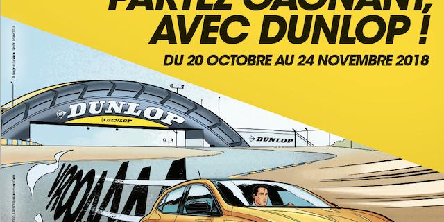 Indiana - Conception de claim promotionnel / Affiche Dunlop 79602