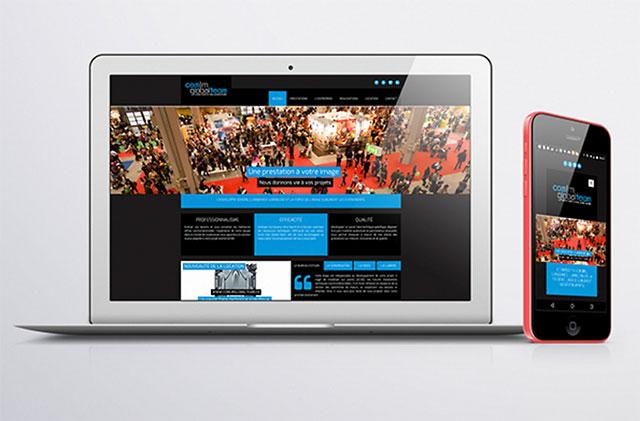 K-Station - Création du site web du groupe COMLM-GLOBAL TEAM 67135