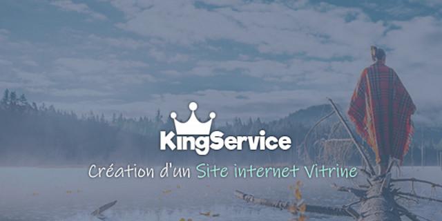 King Service - CRÉATION SITE VITRINE AVEC BLOG 81828