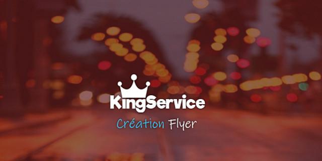 King Service - Création Flyer 81830