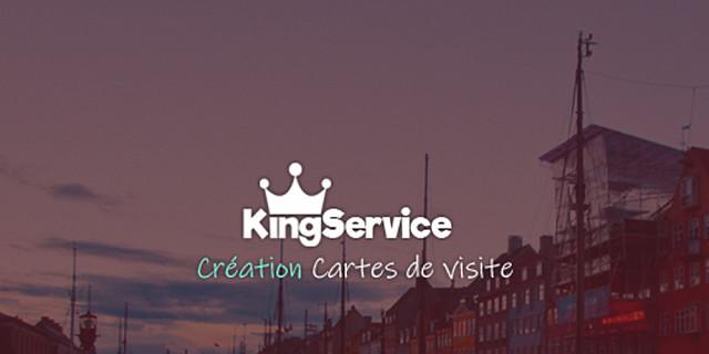 King Service - Création cartes de visite 81831