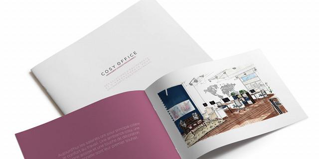 La Confection - Création d'une brochure 71149