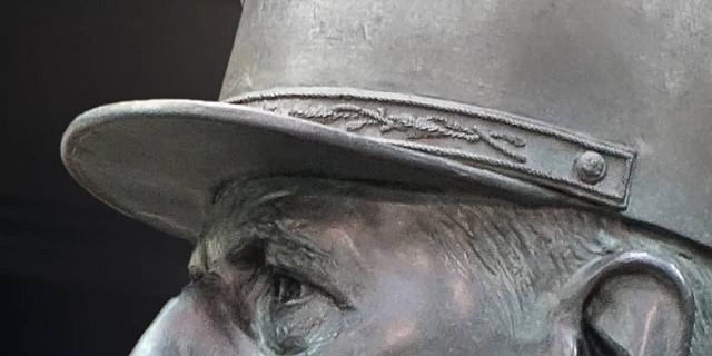 Laurent Mallamaci - Bronze De Gaulle, détail - édition 2020 85589