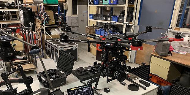 LET'S FLY ! [PRODUCTION] - Tournage M600 Pro avec RED Helium 8K à Lille 77751
