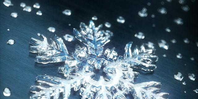 Maciej Frolow - Illustration 3D d'un flocon de neige 73586