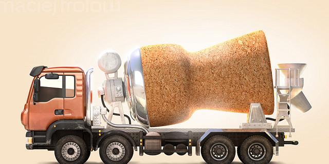 Maciej Frolow - Illustration 3D d'un Camion Point-P 65340