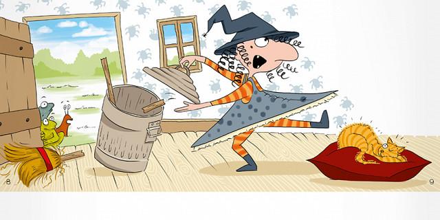 Magali AC illustration - édition jeunesse aventure humour illustrateur Angers 77765