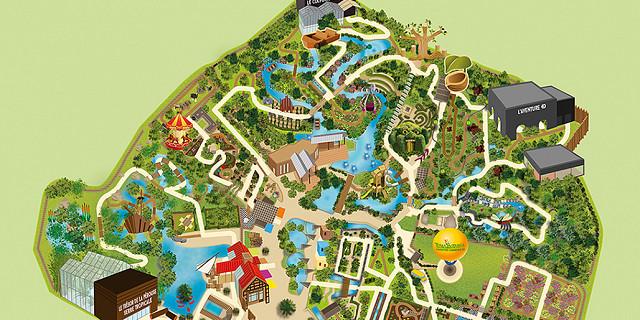 Magali AC illustration - illustration plan tourisme application illustrateur Angers 80049