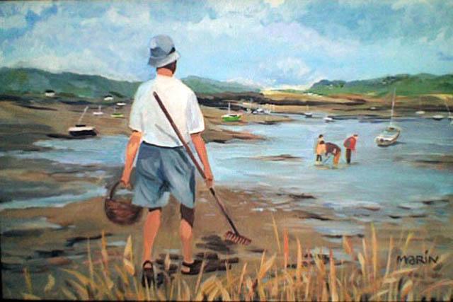 Marin Joubaire - Pêche à pied à Barnenez 81540
